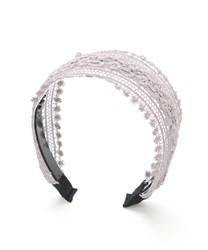 Lacey Headband(Grey-M)