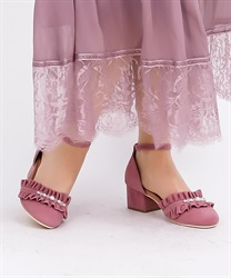 Ruffle separate pumps