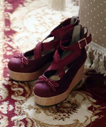 Ballerina shoes(Wine-S)