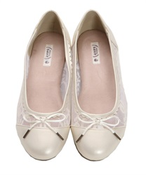 【2Buy20%OFF】Tulle Ballet Pumps(A-S)