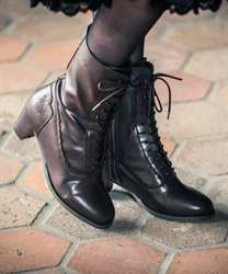 Lace up boot(Brown-S)