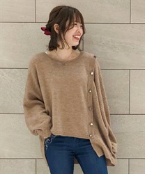 Washable knit pullover