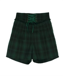 Lace-up cuttloe pant(Green-Free)