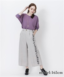 Side flocky pant(Grey-Free)