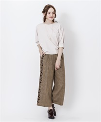 Side flocky pant