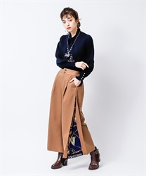 Wide pants_TS242X40(Beige-Free)