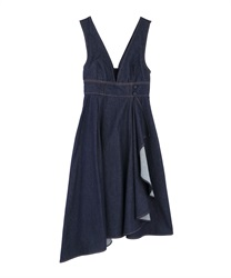 【10%OFF】Raffle frilled ashime one-piece