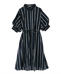 Dress_TS361X74(Navy-Free)