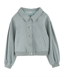 【2Buy20%OFF】Corduroy Blouson(Green-Free)