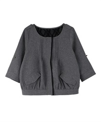 Hemp Touch Uncolored Jacket(Grey-Free)