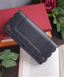 Panching long wallet(Black-M)