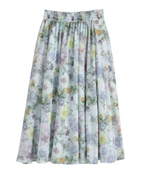 Long skirt_VE291X04(Green-Free)