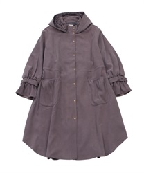 Back Pleated Design Mods Coat(Chachol-Free)