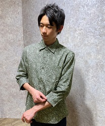 Flower pattern men shirt