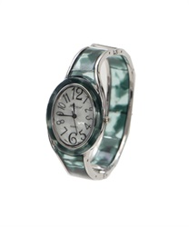 Bangle type Circle watch(Green-M)