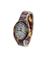 Bangle type Circle watch(Brown-M)
