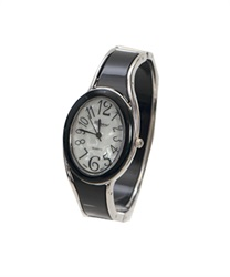 Bangle type Circle watch(Black-M)