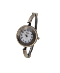 Bangle-style antique watch(Antique gold-M)