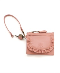 【2Buy20%OFF】Frill Pass Case(Pale pink-M)