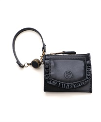 【2Buy20%OFF】Frill Pass Case(Black-M)