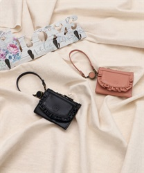 【2Buy20%OFF】Frill Pass Case
