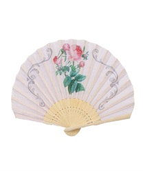 Rose PinkMotif fan(---M)