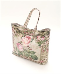 Pierre-Joseph Redout's Rose Patterned Tote Bag size:L(---M)