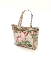 Pierre-Joseph Redout's Rose Patterned Tote Bag size:S(---M)