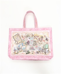 Rose Alice tote Bag L(Pale pink-M)