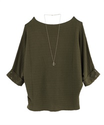 【MAX80%OFF】Tops_AS131X16(Khaki-Free)