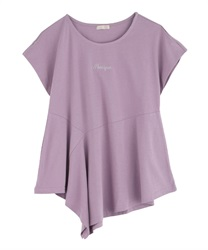 【2Buy20%OFF】Asymmetrical design cut PO(Purple-Free)