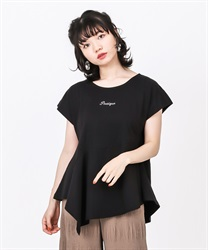 【2Buy20%OFF】Asymmetrical design cut PO(Black-Free)