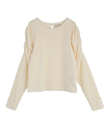 Marshmallow velor pullover(Cream-Free)
