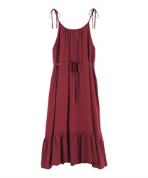 A-line dress(Red-Free)