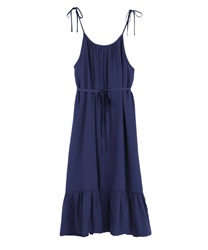 【2Buy10%OFF】A-line dress(Blue-Free)