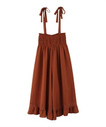 Wide pants_BK242X06(Orange-Free)