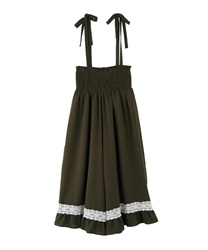 Wide pants_BK242X06(Khaki-Free)