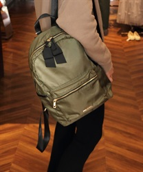 Backpack with Ribbons(Khaki-M)
