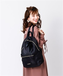 Backpack with Ribbons(Black-M)