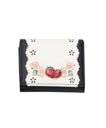 Sweet Strawberry Trifold Wallet