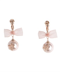 Earring_BL642X43(Pale pink-M)