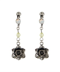 Earring_BL642X46(Antique silver-M)