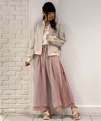 【2Buy20%OFF】Side pleated pants