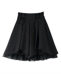 High waist illehem skirt(Black-Free)