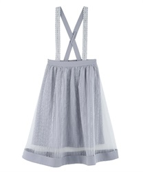 Tulle design skirt with suspension