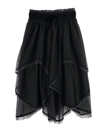 Long skirt_CI291X03P(Black-Free)