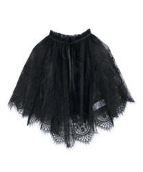 Lace cape(Black-Free)