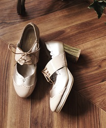Priere cross pumps(Beige-S)