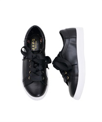 Low-cut sneakers(Black-M)