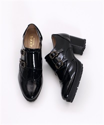 Monk stripe shoe(Black-S)